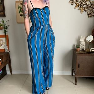 Band Of Gypsies Bustier Jumpsuit